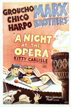 This is an image of Vintage Reproduction of A Night at the Opera 296877