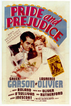 This is an image of Vintage Reproduction of Pride and Prejudice 1940 296938