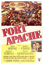 This is an image of Vintage Reproduction of Fort Apache 297034