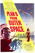 This is an image of Vintage Reproduction of Plan 9 from Outer Space 297046