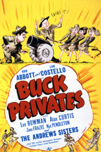 This is an image of Vintage Reproduction of Buck Privates 297052