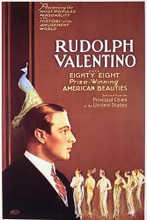 This is an image of Vintage Reproduction of Rudolph Valentino 296942