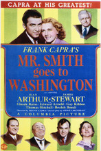 This is an image of Vintage Reproduction of Mr Smith Goes to Washington 296945