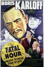 This is an image of Vintage Reproduction of The Fatal Hour 296948