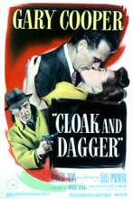 This is an image of Vintage Reproduction of Cloak and Dagger 297094
