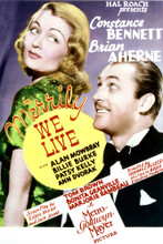 This is an image of Vintage Reproduction of Merrily We Live 297100