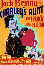 This is an image of Vintage Reproduction of Charley's Aunt 297102