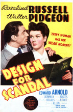 This is an image of Vintage Reproduction of Design for Scandal 297667