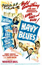 This is an image of Vintage Reproduction of Navy Blues 297669