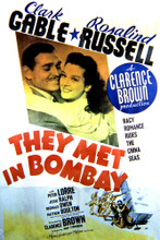 This is an image of Vintage Reproduction of They Met in Bombay 297126