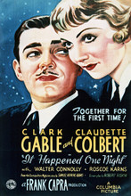 This is an image of Vintage Reproduction of It Happened One Night 297132