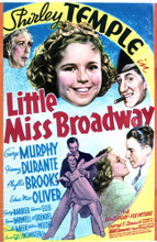 This is an image of Vintage Reproduction of Little Miss Broadway 297681