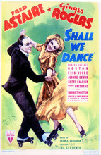 This is an image of Vintage Reproduction of Shall We Dance 297682