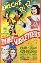 This is an image of Vintage Reproduction of The Three Musketeers 297693