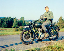 This is an image of Photograph & Poster of Steve McQueen 298046