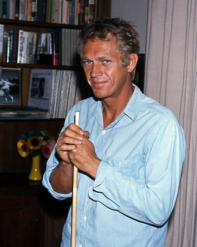 This is an image of Photograph & Poster of Steve McQueen 286594