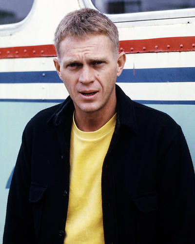 This is an image of Photograph & Poster of Steve McQueen 286604
