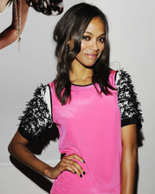 This is an image of Photograph & Poster of Zoe Saldana 287807