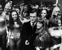This is an image of Photograph & Poster of Hugh Hefner 197694