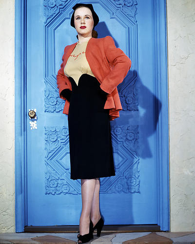 This is an image of Photograph & Poster of Deanna Durbin 289634