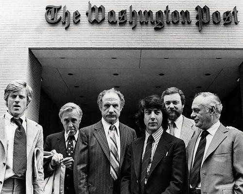 This is an image of Photograph & Poster of All the President's Men 198356
