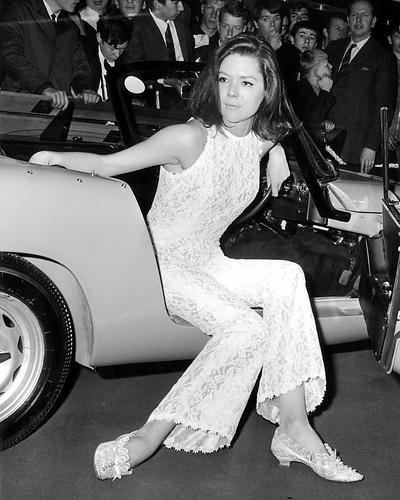 This is an image of Photograph & Poster of Diana Rigg 198688