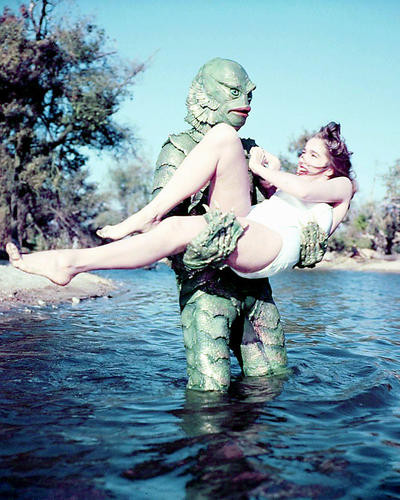 This is an image of Photograph & Poster of The Creature from the Black Lagoon 289914