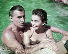 This is an image of Photograph & Poster of Jean Simmons and Stewart Granger 290061