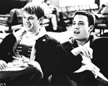 This is an image of 169685 Matt Damon & Ben Affleck Photograph & Poster