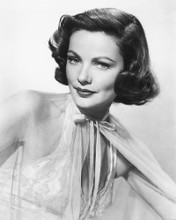 This is an image of 178787 Gene Tierney Photograph & Poster