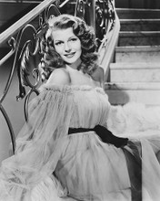 This is an image of 179302 Rita Hayworth Photograph & Poster