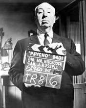 This is an image of 179678 Alfred Hitchcock Photograph & Poster
