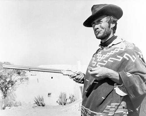 This is an image of 186004 Clint Eastwood Photograph & Poster