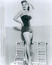 This is an image of 190031 Debra Paget Photograph & Poster