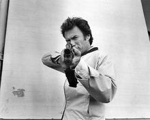 This is an image of 194376 Clint Eastwood Photograph & Poster