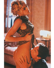 This is an image of 247565 Sharon Stone & Michael Douglas Photograph & Poster