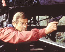 This is an image of 256822 Roger Moore Photograph & Poster