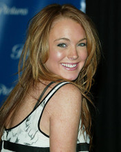 This is an image of 264386 Lindsay Lohan Photograph & Poster