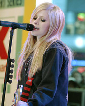 This is an image of 266056 Avril Lavigne Photograph & Poster