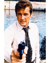 This is an image of 267450 Roger Moore Photograph & Poster