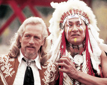 This is an image of 280722 Buffalo Bill and the Indians Photograph & Poster