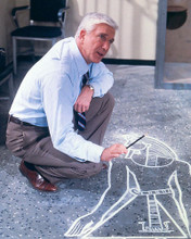 This is an image of 281206 Leslie Nielsen Photograph & Poster