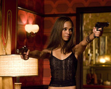 This is an image of 281248 Zoe Saldana Photograph & Poster
