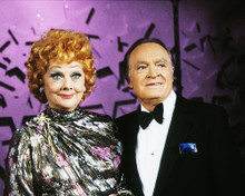 This is an image of 281326 Lucille Ball and Bob Hope Photograph & Poster
