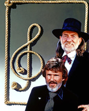 This is an image of 282844 Willie Nelson and Kris Kristofferson Photograph & Poster
