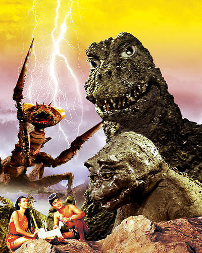 This is an image of 283795 Son of Godzilla Photograph & Poster