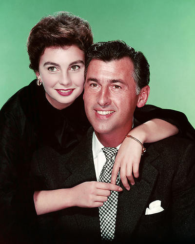 This is an image of 289035 Jean Simmons and Stewart Granger Photograph & Poster