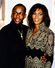 This is an image of 289805 Whitney Houston and Bobbie Brown Photograph & Poster