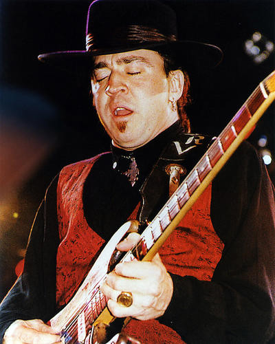 This is an image of 291564 Stevie Ray Vaughan Photograph & Poster