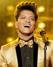This is an image of 293152 Bruno Mars Photograph & Poster